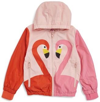 Stella McCartney Kids Flamingo Hooded Jacket (3-14 Years)