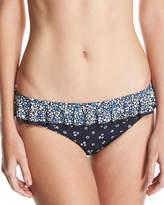 MICHAEL Michael Kors Ruffle Ditsy-Floral Classic Bikini Swim Bottom