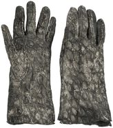 Isaac Sellam Experience - 'Soudeur' gloves - men - Leather - 7