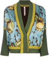 Antonio Marras floral embroidered cardigan
