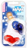 Mam Crystal 2 Orthodontic Pacifiers