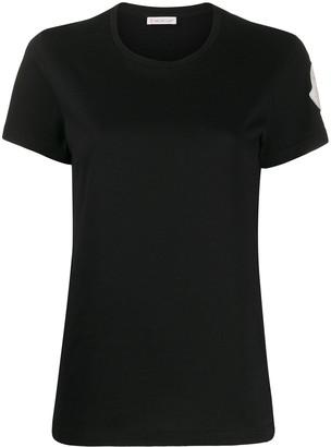 Moncler oversized logo patch T-shirt