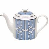 O.W. London Loop Cornflower Blue & White Teapot