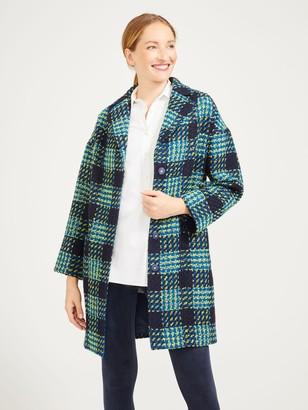 J.Mclaughlin Fien Coat in Plaid