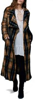 Free People 'Anaheim' Plaid Coat