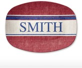 Williams-Sonoma Williams Sonoma Personalized Shatter-Resistant Platter, Americana