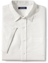 Lands' End Men's Tailored Fit Linen Shirt-Orange