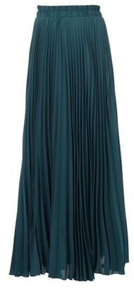 Dorothy Perkins Womens Jolie Moi Teal Crepe Pleated Maxi Skirt, Teal