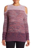 Rebecca Minkoff Page Wool Blend Cold Shoulder Sweater
