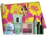 Clinique 2015 Makeup Skincare Gift Set (Pink) Turnaround Overnight Moisturizer & More