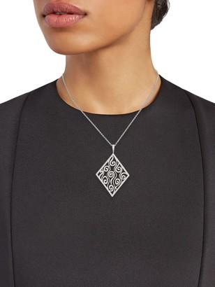 Cathy Waterman Vintage Platinum & Diamond Pendant Necklace