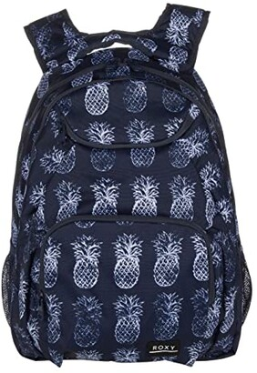 Roxy Shadow Swell Backpack (Mood Indigo Pineapple Day) Backpack Bags