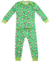 BedHead Printed Pajama Shirt & Pants, Green, Size 3-24 Months