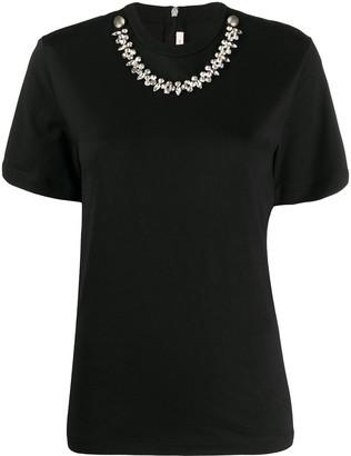 Christopher Kane crystal-embellished T-shirt
