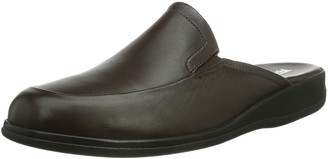 Fortuna Mens Berlin Ago H Cold Lined Slippers Red Size: 6