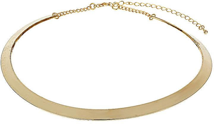 Wallis Gold Smooth Thin Collar