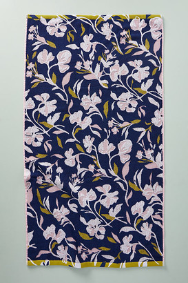 Anthropologie Poppy Towel Collection By in Blue Size BATH TOWEL