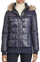 Lauren Ralph Lauren Faux Fur Detail Puffer Jacket