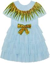 Gucci Children's tulle dress with sequins