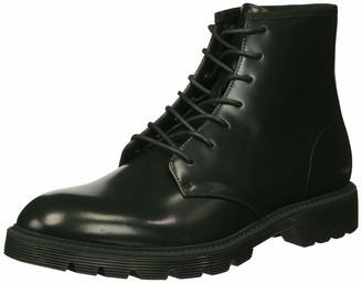 Calvin Klein Men's Fenton Box Leather Combat Boot