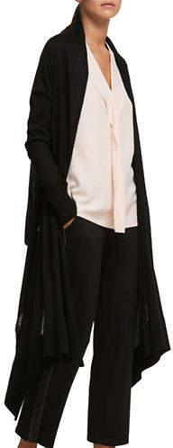 DKNY Long-Sleeve Cardigan