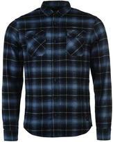 Firetrap Blackseal Brushed Check Shirt