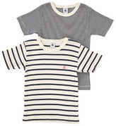 Petit Bateau Mariniére T-Shirts - Set of 2