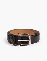 A.P.C. Brown Leather Jeremy Belt