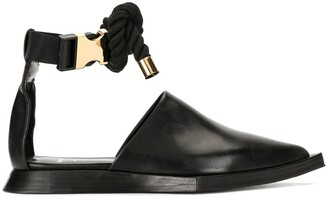 Sacai Pointed Toe Sandals