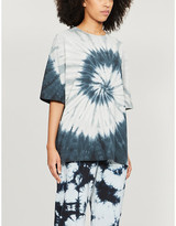 Ninety Percent Tie dye-print organic cotton T-shirt