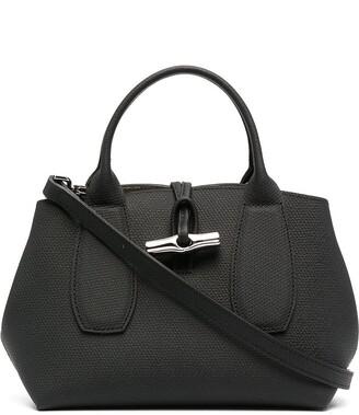 Longchamp small Roseau top handle bag