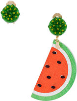 Mercedes Salazar hanging watermelon earrings