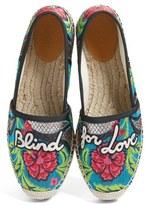 Gucci Women's Pilar Blind For Love Espadrille