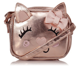 CAT George Rose-Gold Hue Cross Body Bag