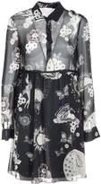 Giamba Printed Shirt Dress