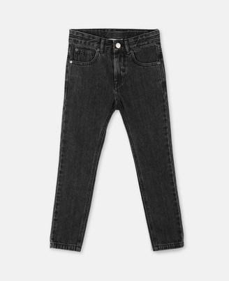 Stella Mccartney Kids Stella McCartney washed denim trousers