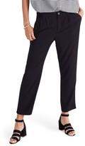 Madewell Women's High Waist Crop Track Trousers