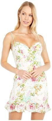 ASTR the Label Mireille Dress (Multicolored Floral) Women's Dress