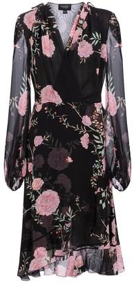 Giambattista Valli Floral silk chiffon midi dress