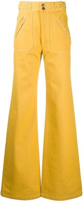 Marc Jacobs High-Rise Flared Trousers