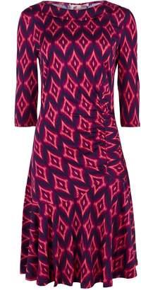 Wallis **Jolie Moi Pink Ruched Dress
