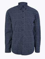 M&S CollectionMarks and Spencer Pure Cotton Paisley Print Shirt