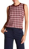 J.Crew J. Crew Gin Checked Cashmere Tank