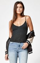 KENDALL + KYLIE Kendall & Kylie Ribbed V-Neck Sweater Tank Top