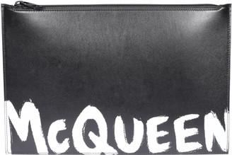Alexander McQueen Logo Zip Pouch