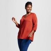 Ava & Viv Women's Plus Size Popover Top