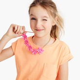 J.Crew Girls' neon flower necklace