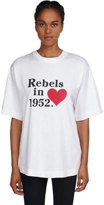 MONCLER GENIUS Rebels Printed Cotton Jersey T-shirt