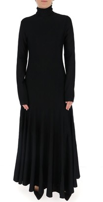 Bottega Veneta High-Neck Maxi Dress