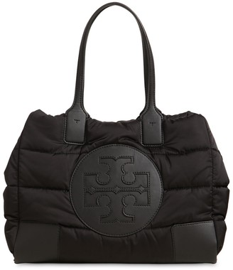 Tory Burch Ella Mini Quilted Nylon Tote Bag